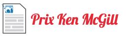 Cliquez ici pour accéder au Prix Ken McGill